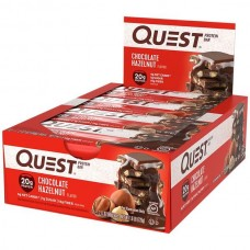 QUEST BAR 12×60g Čokolada-lešnik