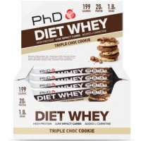 PhD Diet Whey Bars 12 x 65g