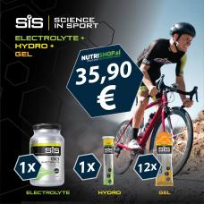 SiS PAKET Electrolyte+HYDRO+12×GEL