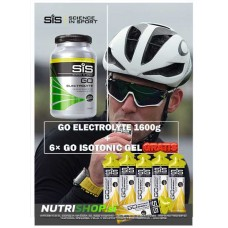 GO Electrolyte 1600g + 6× GO Isotonic GEL GRATIS