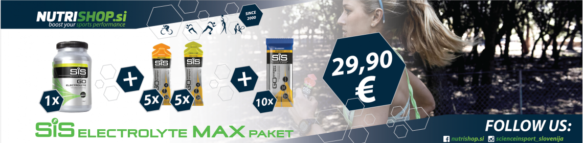 SiS Electrolyte MAX paket