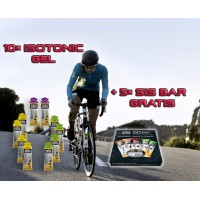 GO Isotonic GEL 10 × 60ml + 5 × GO Energy Bar GRATIS