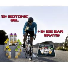 GO Isotonic GEL 10 × 60ml + 5 × GO Energy Bar GRATIS