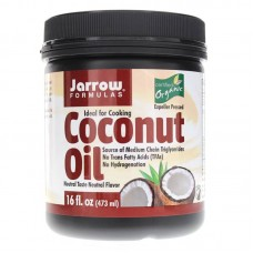 Jarrow Formulas Coconut Oil Organic 473ml